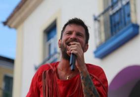 Saulo Fernandes agradece homenagem feita por cantor paraibano