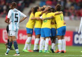 Impasse argentino pode frustrar amistosos da seleção na Paraíba