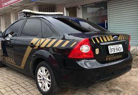Viatura da Polícia Federal.