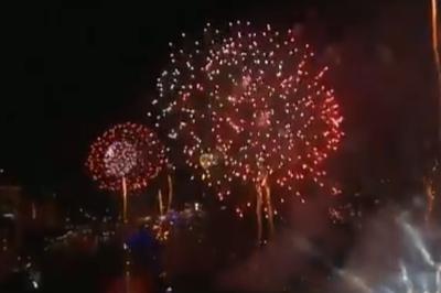Vídeo: Já é Ano Novo na Tailândia, Indonésia e China