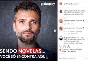 Globoplay reage a vídeo da Netlfix em que Gagliasso desdenha de novelas