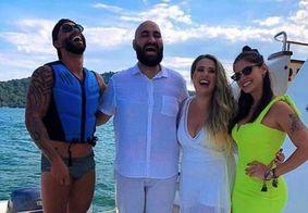 """Amor, manda beijo"", diz Andressa Suita para Gusttavo Lima em vídeo"