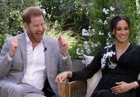 Harry e Meghan em entrevista a programa de televisão