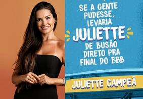 Juliette (foto) terá nome estampado