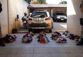 Suspeito de furtar mil calcinhas é preso em MG; ele usava uma das peças durante abordagem