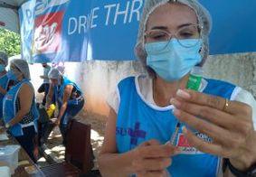 Primeiro dia de drive thru tem quase 2 mil vacinados contra a Covid-19, em João Pessoa