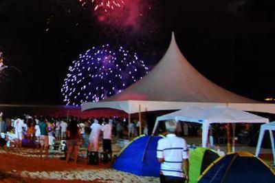 Montagens de tendas em praias de João Pessoa não serão permitidas no Réveillon, diz secretário de saúde de JP