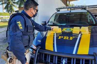 Dupla é presa com carga de cocaína avaliada em mais de R$ 300 mil, na Paraíba