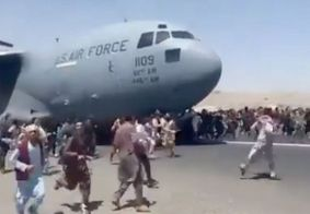Fuga dos afegãos, no dia 15 de agosto de 2021