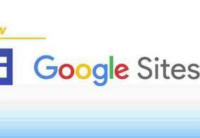 Aprenda a criar um site totalmente grátis com o Google