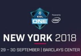 """""""ESL One New York 2018"""" é anunciado; confira detalhes"""