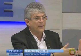 Ricardo Coutinho e mais sete citados na 'Calvário' são alvos de nova denúncia do MPPB