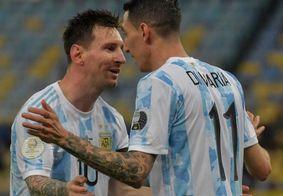 Messi conquista o primeiro título com a camisa da Argentina