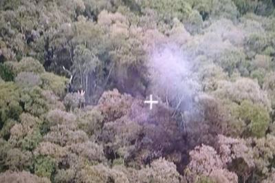 Avião cai na região da serra da Cantareira, em São Paulo